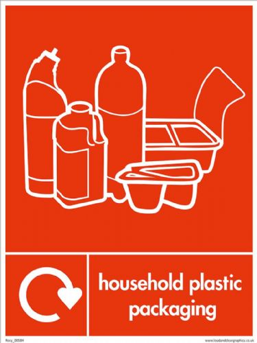 Household plastic packaging